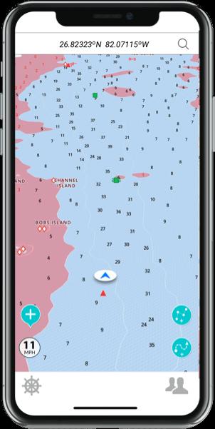 GPS Marine Naivgation App
