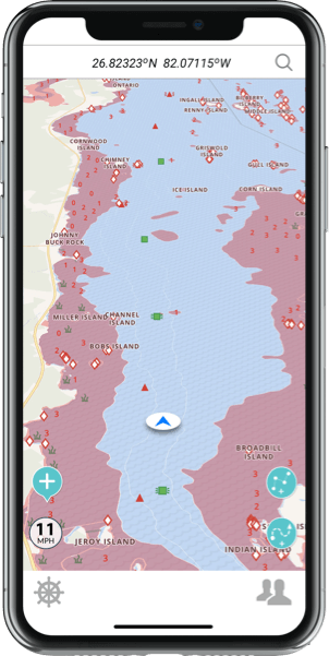 Marine GPS and Boat route Planner App