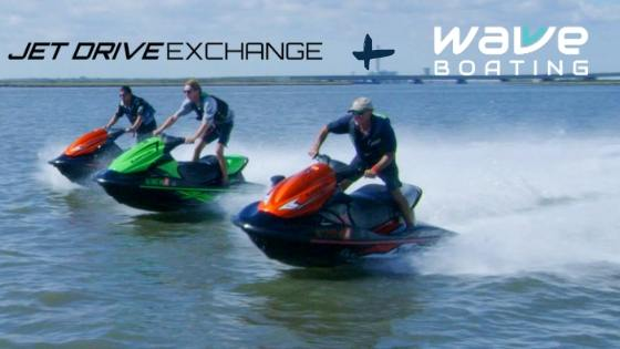 Jet Drive Exchange boat club partnership