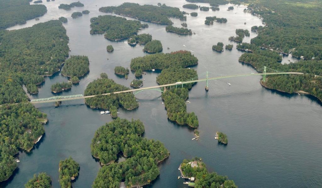 Navigating the thousand islands