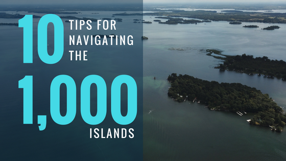 Navigating the 1000 Islands