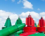 buoy and beacons for marine navigation