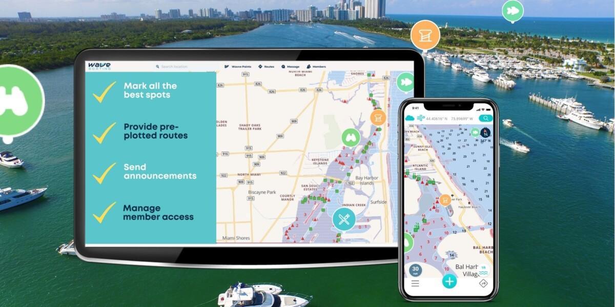 Best navigation for Boat Clubs